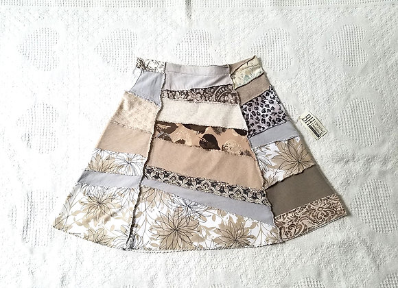 Tan Peace Skirt Size S
