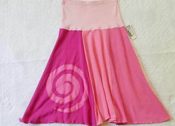Pink Twirly Skirt with spiral size S