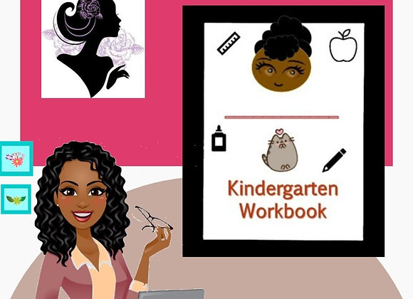 Kinder Busy Workbook-Girl