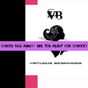 School Bell Rings- Are you ready for school?