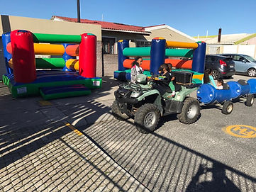 Blast Zone Events Kids Mini Train