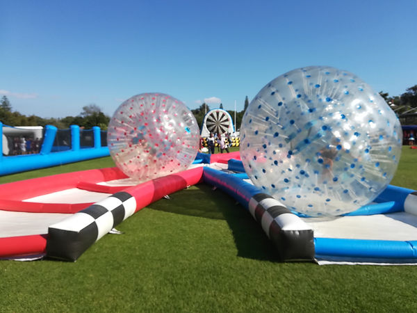 Zorb Track Racing for Events