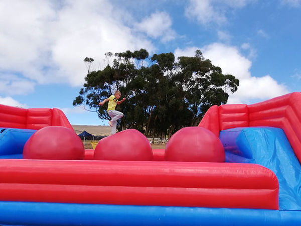 Blast Zone Events Wipeout Red Balls for Events