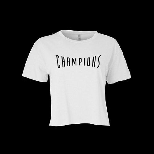 Champions Crop Tshirt