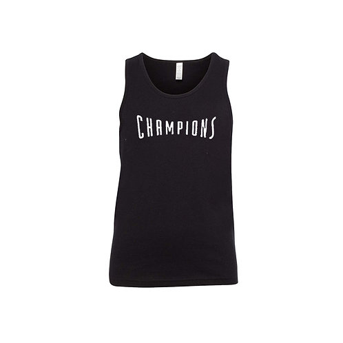 Youth Unisex Tanks - Champions Letters