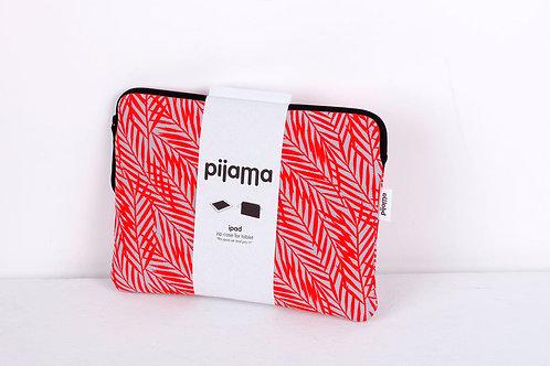 Housse Pijama pour tablette et Pro 11 feuilles rouges