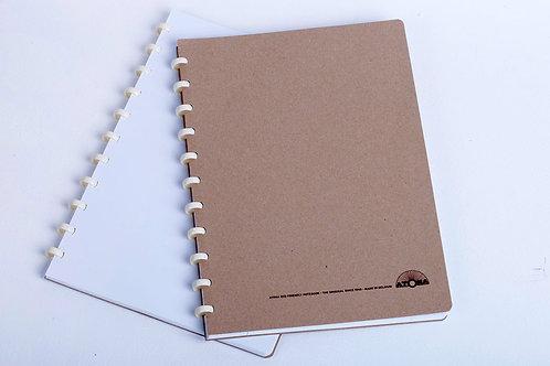 Cahier Atoma couverture et pages recyclées A4
