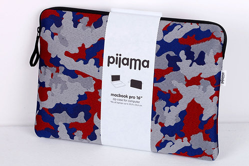 "Housse Pijama pour Mac book pro 16"" Camou"