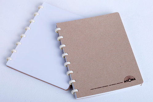 Cahier Atoma couverture et pages recyclées A5