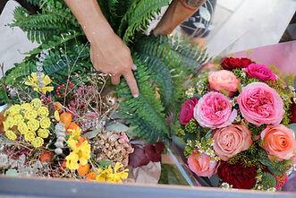 Transportbox für Blumen