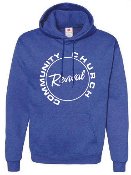 Revival Blue Hoodie