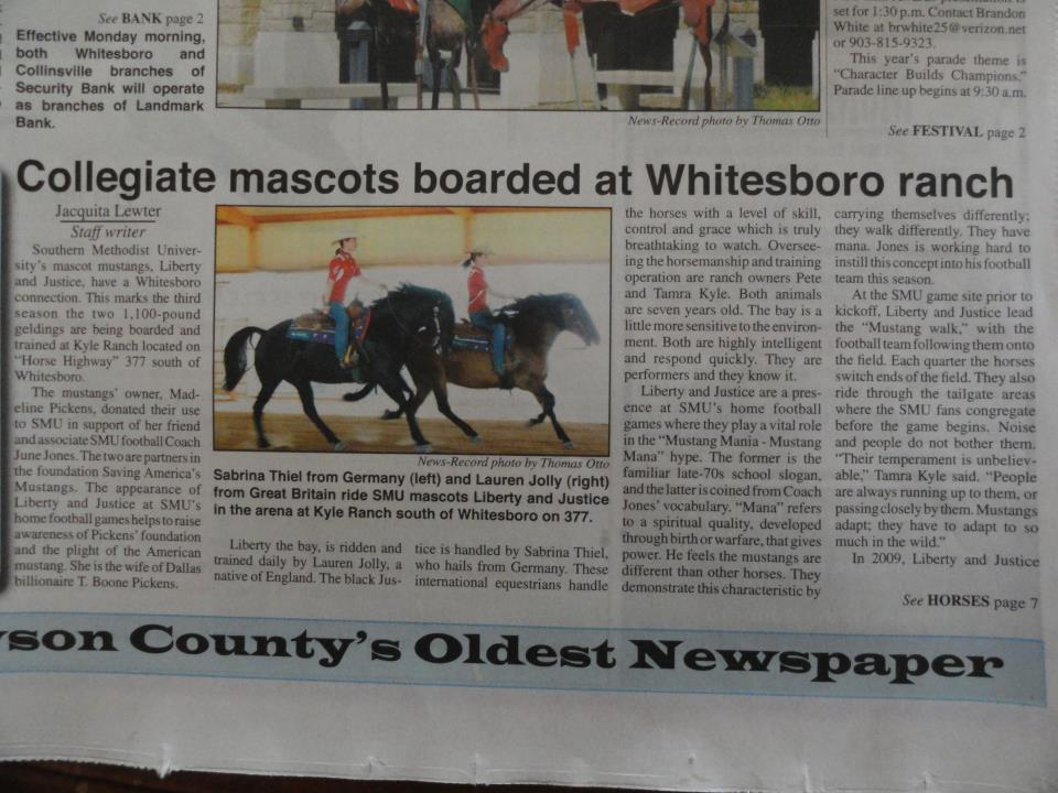 Whitesboro News 2011
