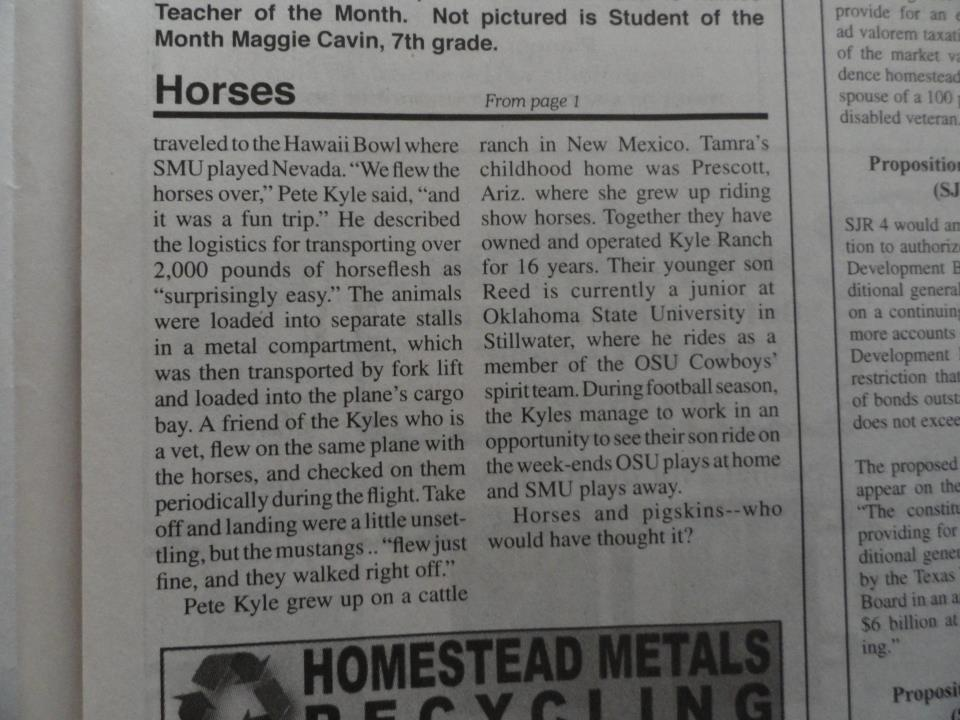 Whitesboro News