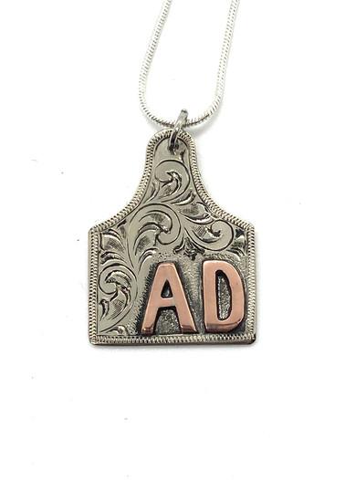 ear tag pendant