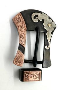 3/4 headstall buckle