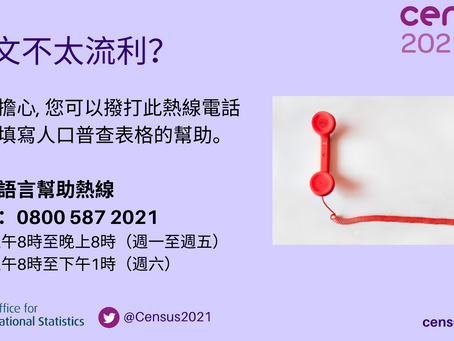 Assistance to complete census