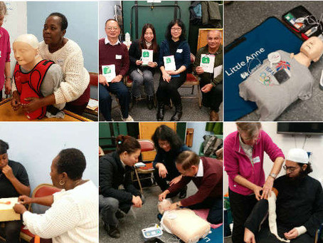 HLCN's Emergency First Aid Training workshop