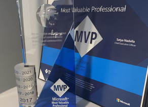 The Microsoft MVP Award from DataChant