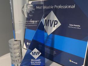 The Microsoft MVP Award from DataChant