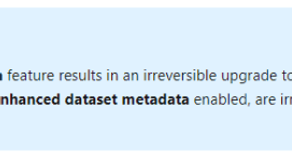"Power BI ""Store datasets in enhanced metadata format"" warning from Power BI – The BIccountant"
