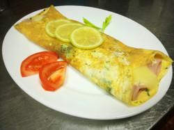 Omelette de Jamon y Queso