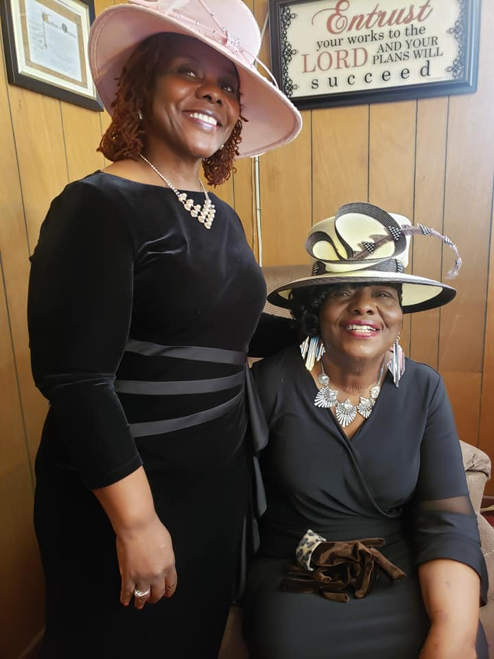 "Hats, Pearls and Gloves ""The Seven Hats Of Christianity"" Thanks to all who came out to support the O"