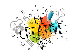 be-creative-template-for-a-text-vector-2