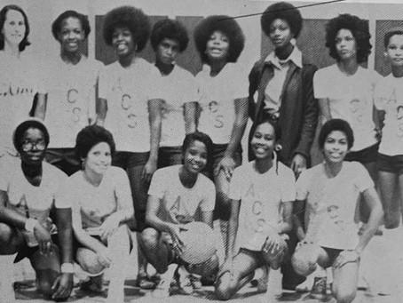 ACS Girls Basketball Squad - 1976