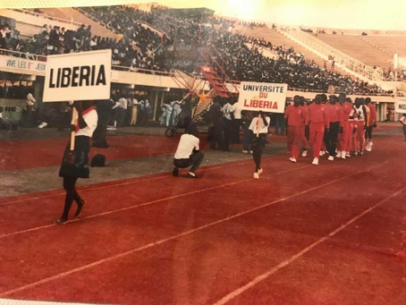 LU at WAUG Opening Ceremony - 1989