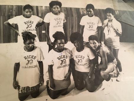 Ricks Girls BBall Team - Year Unknown