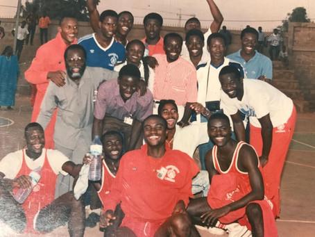 LU Celebrates Bronze Medal - 1989