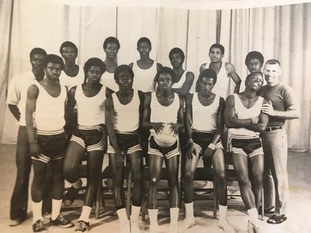 Ricks Institute BBall Squad - 70s