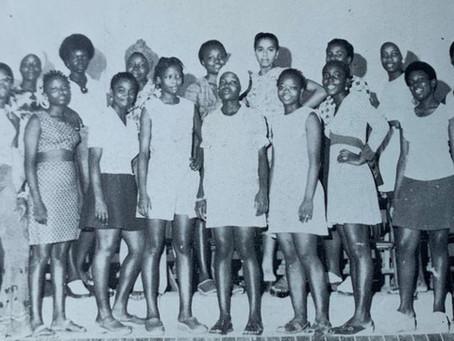 Ricks Girls Basketball Squad - 1975