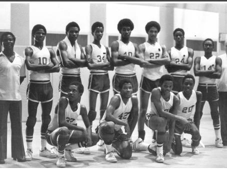 Saints Basketball - 1978