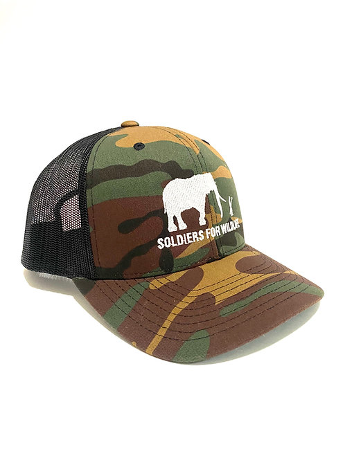 Soldiers For WildlifeGreen Camo Hat