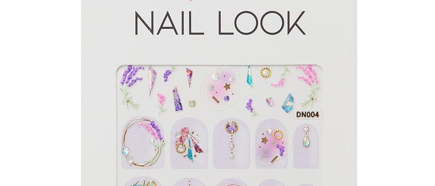 Lavender Nail Sticker