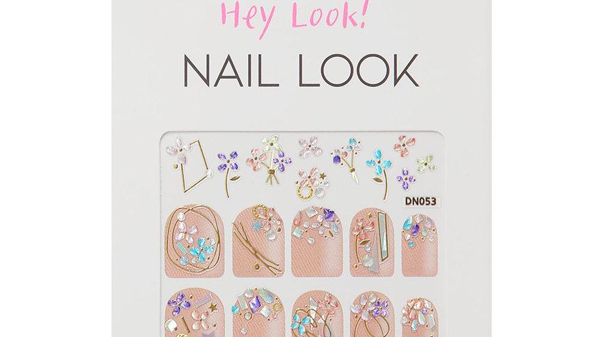 Crystal Flower Nail Sticker