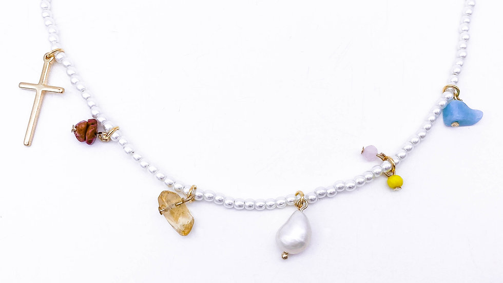 Kimberly Pearl Necklace