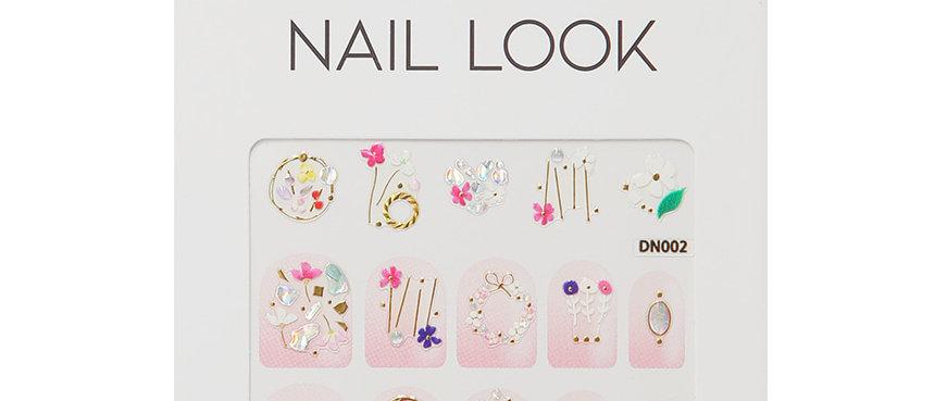Flower Nail Sticker