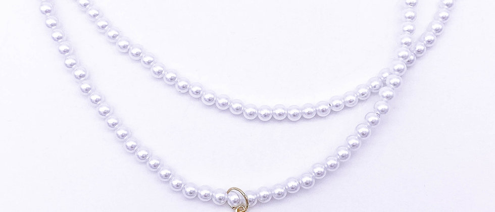 Elaina Pearl Necklace