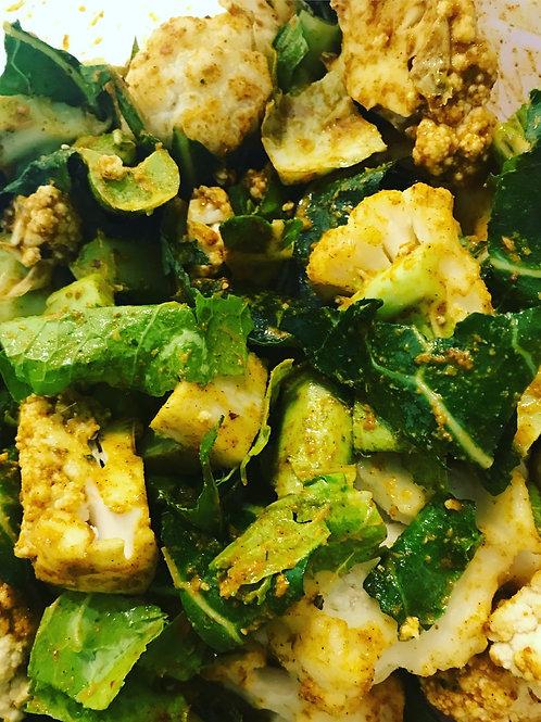 Curried Cauliflower (VG, GF)