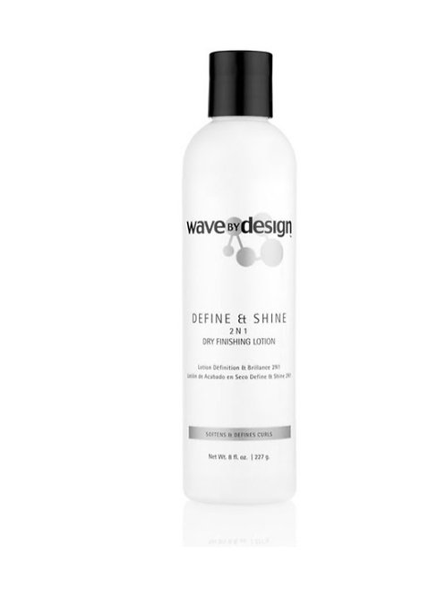 Wave by Design Define & Shine Dry Finishing Lotion