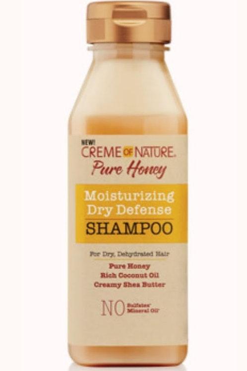 Creme of Nature-Pure Honey-Moisturizing Dry Defense