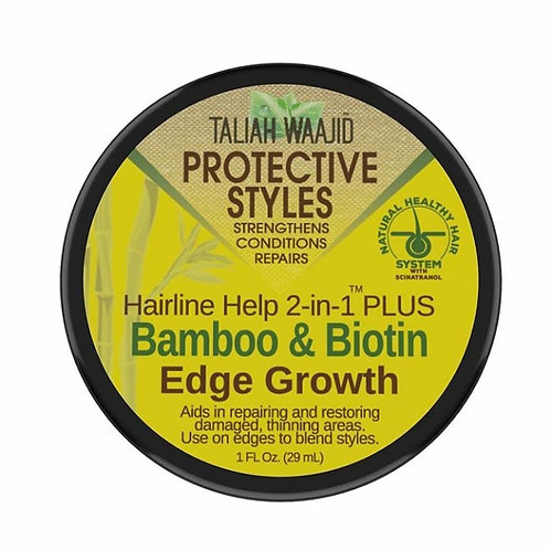 Taliah Waajid Protective Styles Bamboo & Biotin Edge Growth