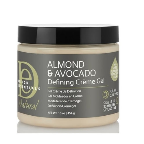 Design Essential Almond & Avocado Defining Creme Gel