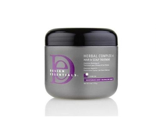 Design Essential Herbal Complex 4 Hair & Scalp Treatment