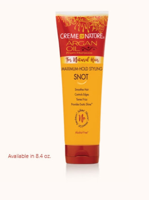 Creme of Nature Argan Oil  Styling SNOT