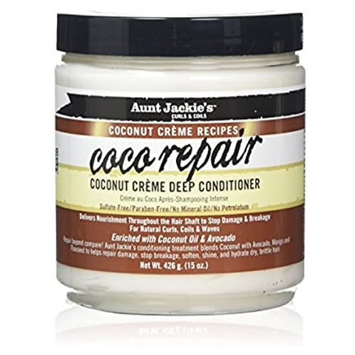Aunt Jackie's Coco Repair Coconut Creme Deep Conditioning