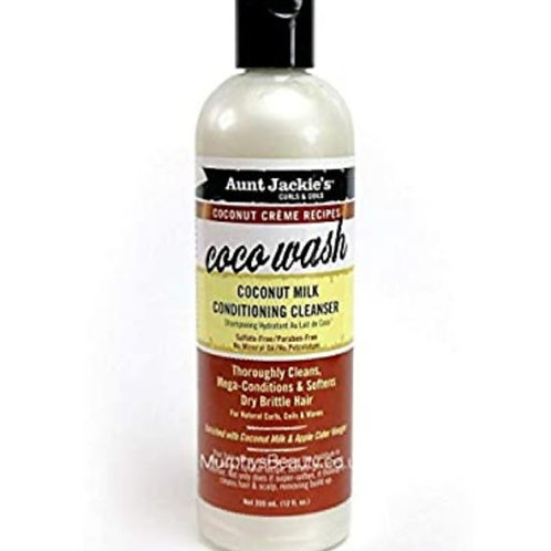 Aunt Jackie's Coconut Creme Recipe CocoWash Conditioning Cleanser