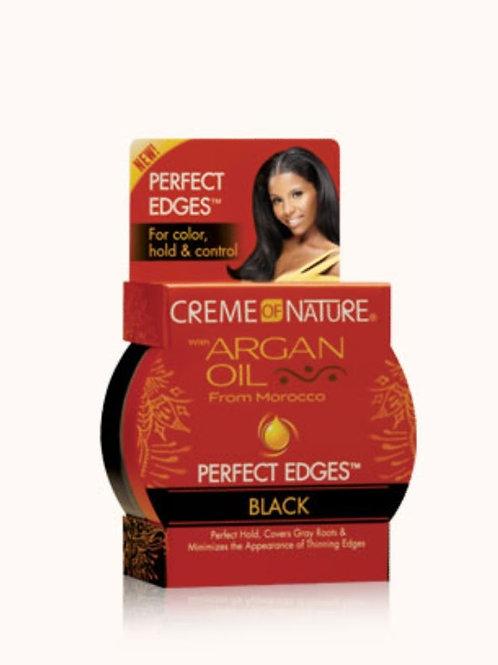 Creme of Nature Argan Oil Perfect Edges Black
